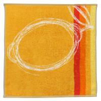 Torchon de cuisine éponge 50x50 cm LINE Orange
