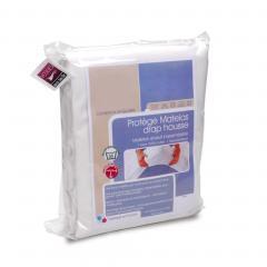 Protège matelas imperméable Antony - blanc - 60x120
