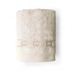 Drap de bain 100x150 cm 100% coton 550 g/m2 PURE CADENA Beige