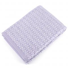 Drap de douche 70x140 cm GRAPHIC HOOK violet