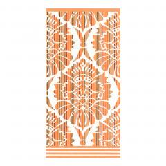 Drap de douche 70x140 cm 100% coton 500 g/m2 TOSCA BAROQUE Orange