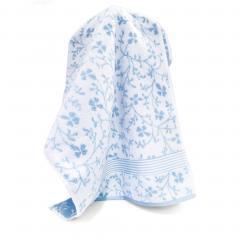 Drap de douche 70x140 cm VINTAGE FLORAL Bleu 550 g/m2