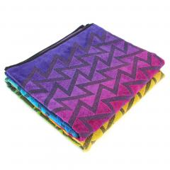 Drap de plage 100x180 cm CALICO forme géométrique multicolore