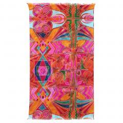 Drap de plage Fouta 100x180 cm 100% coton 270 g/m² IZOLA Tribal multicolore
