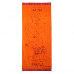 Drap de plage 85x200 cm 480 g/m² ELEFANT Orange