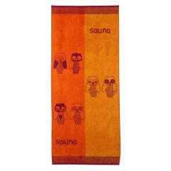 Drap de plage 85x200 cm 480 g/m² EULE Orange