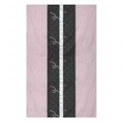 Drap plat 180x290 cm 100% coton GLAMOUR Rose