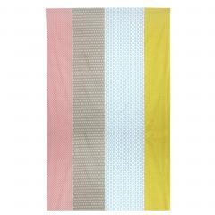 Drap plat 180x290 cm 100% coton RIO Multicolore