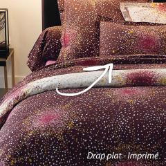 Drap plat 280x310 cm 100% coton MAGIC * DESTOCKAGE *