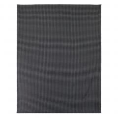 Drap plat 240x310 cm Satin de coton TROCADERO Gris anthracite