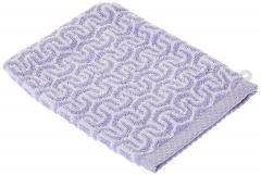 Gant de toilette 16x21 cm GRAPHIC HOOK violet