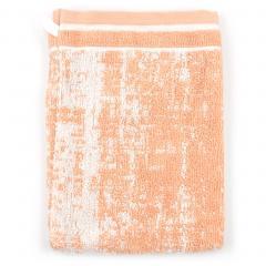 Gant de toilette 16x21 cm 100% coton 500 g/m2 TOSCA CLASSIQUE Orange