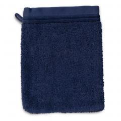 Gant de toilette 16x21 cm JULIET Bleu 520 g/m2