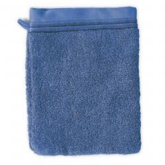 Gant de toilette 16x21 cm JULIET Bleu Ciel 520 g/m2
