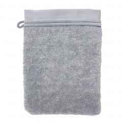 Gant de toilette 16x21 cm JULIET Gris Argent 520 g/m2