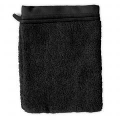 Gant de toilette 16x21 cm JULIET Noir 520 g/m2