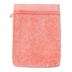 Gant de toilette 16x21 cm JULIET Rose bonbon 520 g/m2