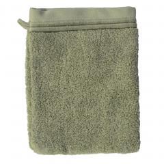 Gant de toilette 16x21 cm JULIET Vert 520 g/m2
