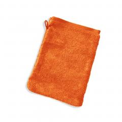 Gant de toilette 16x21 cm PURE Orange Butane 550 g/m2