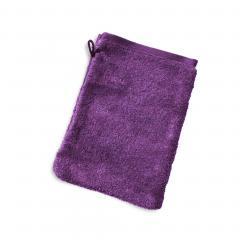 Gant de toilette 16x21 cm PURE Violet550 g/m2