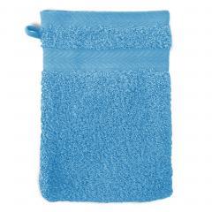 Gant de toilette 16x21 cm ROYAL CRESENT Bleu Ciel  650 g/m2