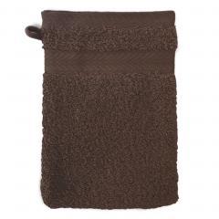 Gant de toilette 16x21 cm ROYAL CRESENT Chocolat 650 g/m2
