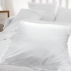 Housse d'édredon uni 140x150 cm 100% coton ALTO Blanc