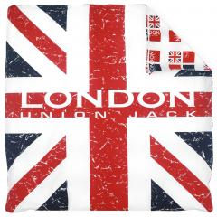 Housse de couette 200x200 cm 100% coton LONDON Union Jack