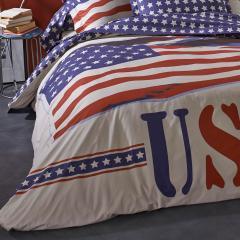 Housse de couette 260x240 cm 100% coton USA