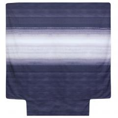 Housse de couette 300x240 cm Percale pur coton JAZZ Bleu