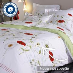 Housse de couette 240x220 cm Percale pur coton SEDUCTION