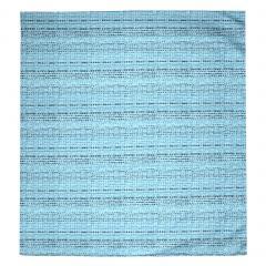 Housse de couette 240x220 cm Satin de coton LOUVRE Bleu clair
