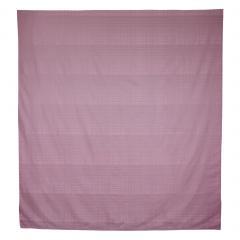 Housse de couette 240x220 cm Satin de coton PIGALLE Violet