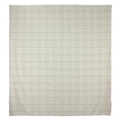 Housse de couette 260x240 cm Satin de coton ODEON Marron clair