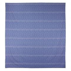 Housse de couette 260x240 cm Satin de coton VENDOME Bleu foncé