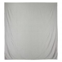 Housse de couette 280x240 cm Satin de coton ETOILE Gris clair