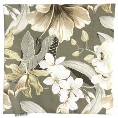 Housse de coussin 45x45 cm LIVERI Flowers - 100% coton