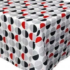 Nappe rectangle 150x200 cm imprimée 100% polyester SMILE