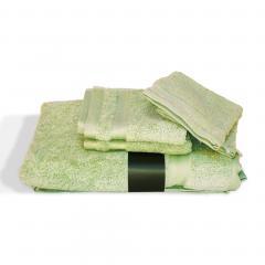 Parure de bain 5 pièces ROYAL CRESENT Vert Pastel 650 g/m2
