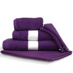 Parure de bain 6 pièces PURE Violet550 g/m2
