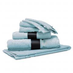 Parure de bain 7 pièces ROYAL CRESENT Bleu Pâle 650 g/m2