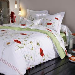 Parure de lit 280x240 cm Percale pur coton SEDUCTION