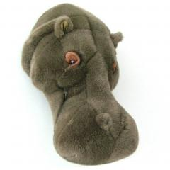 Peluche trophée Hippopotame David collection Savane