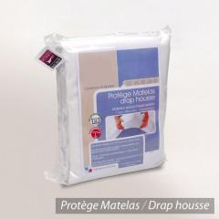 Protège matelas imperméable Antony - blanc - 40x80