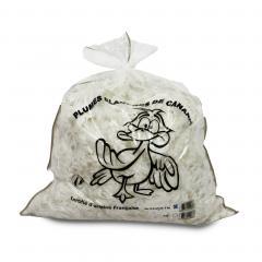 Rembourrage 85 % plumes de canards 15% duvet sac 1 kg