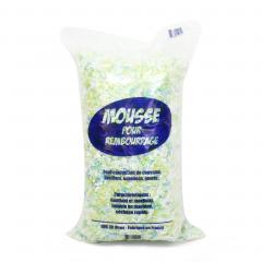 Rembourrage flocons mousse polyuréthane sac 30 L