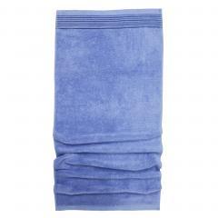 Serviette de toilette 50x100 cm JULIET Bleu Ciel 520 g/m2