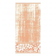 Serviette de toilette 50x100 cm 100% coton 500 g/m2 TOSCA CLASSIQUE Orange
