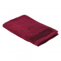 Serviette invité 33x50 cm JULIET Rouge bordeaux 520 g/m2