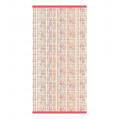 Serviette invité 33x50  cm 100% coton 500 g/m2 LUCA Rose